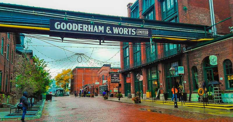 Gooderham and Worts Distillery National Historic Site of Canada