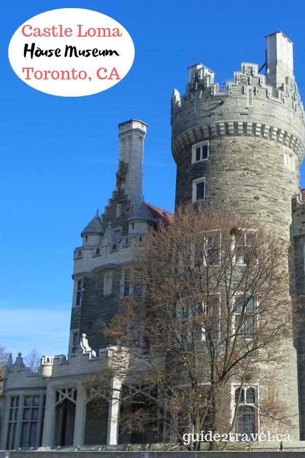 Visit Castle Loma in Toronto, Ontario, Canada.