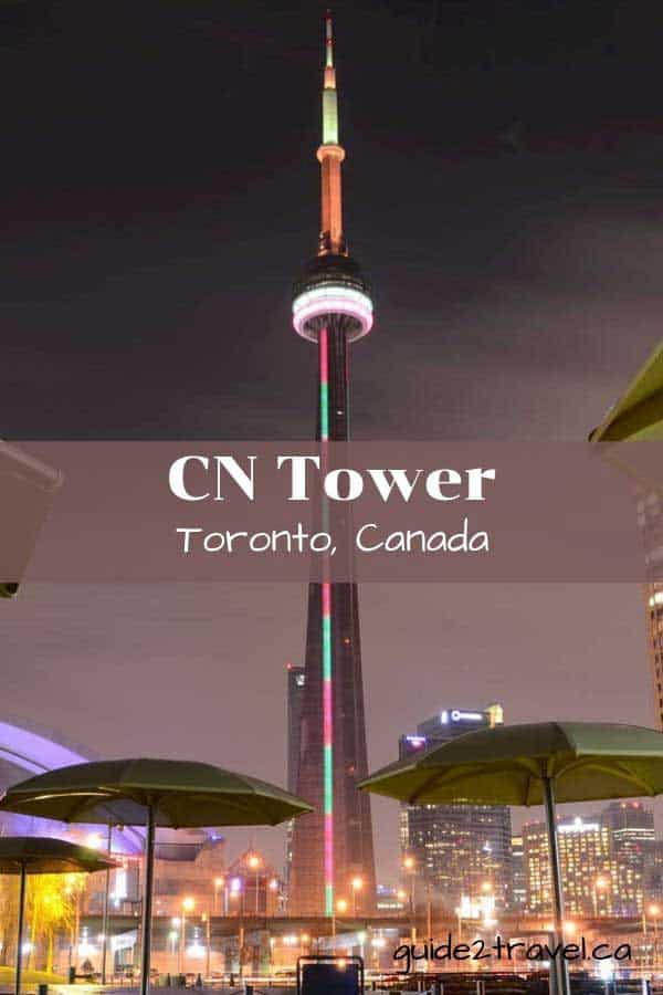 Visit the CN Tower in Toronto, Ontario, Canada.