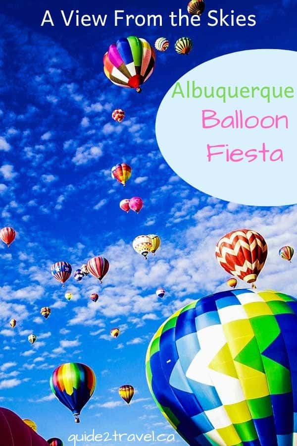 Albuquerque balloon fiesta - image by Ed Hathaway.