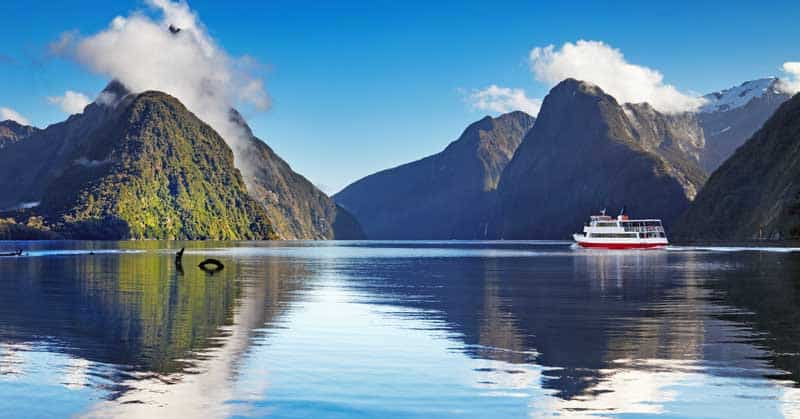 New Zealand travel ideas - Milford Sound, South Island, New Zealand — Photo by muha04