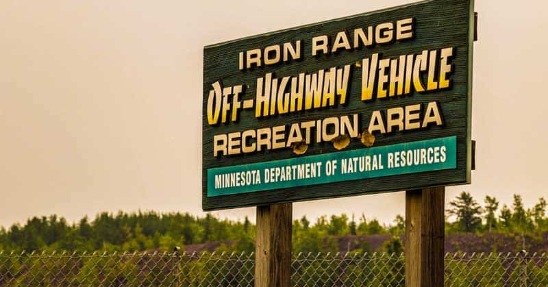 Iron Range Off-Highway Vehicle (OHV) Recreation Area, Minnesota