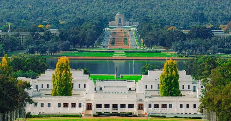 Australian Parliament, Canberra, Australia.