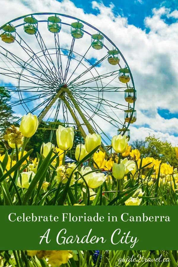 Visit Australia's capital city -- Canberra, planned and built from 1912 on.