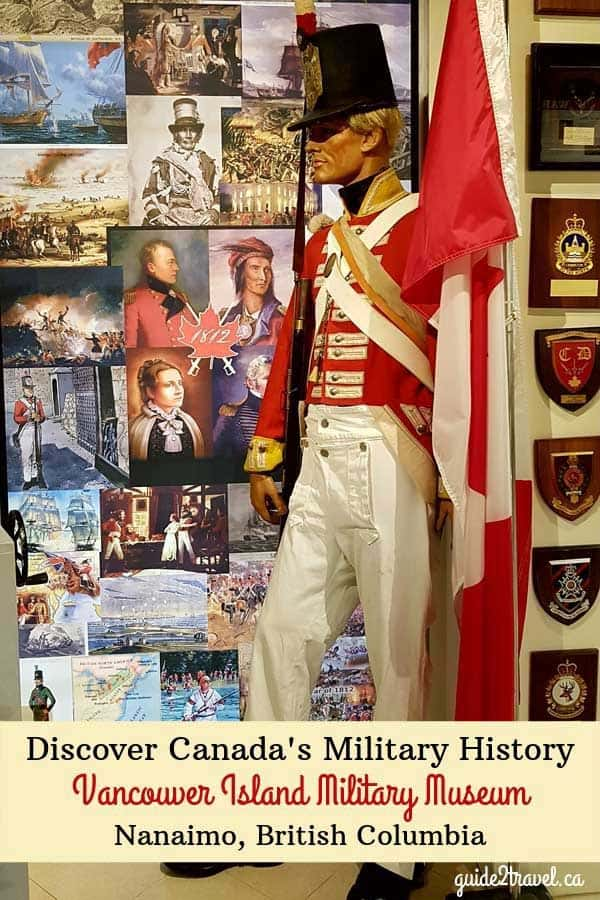 Discover Canada's military history at the Vancouver Island Military Museum in Nanaimo, British Columbia.