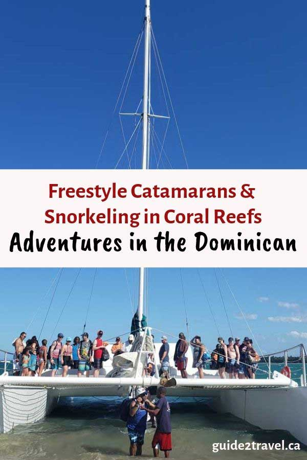 Taking a catamaran adventure in Puerta Plata in the Dominican Republic
