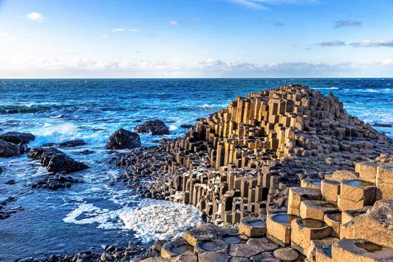 The Unesco Heritage Giants of Causeway in North Ireland, United Kingdom — Photo by lspencer