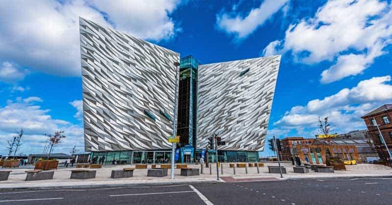 Titanic Visitor Centre, Belfast.