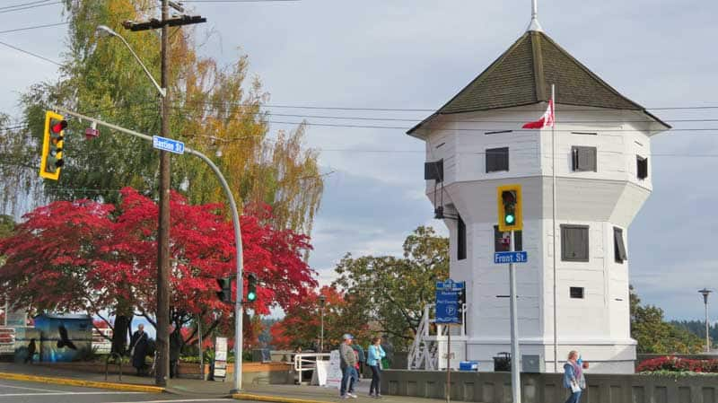 The historic Bastion on Front Street in Nanaimo, British Columbia.