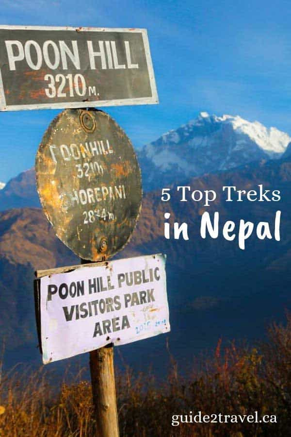 5 adventure treks to take in Nepal.
