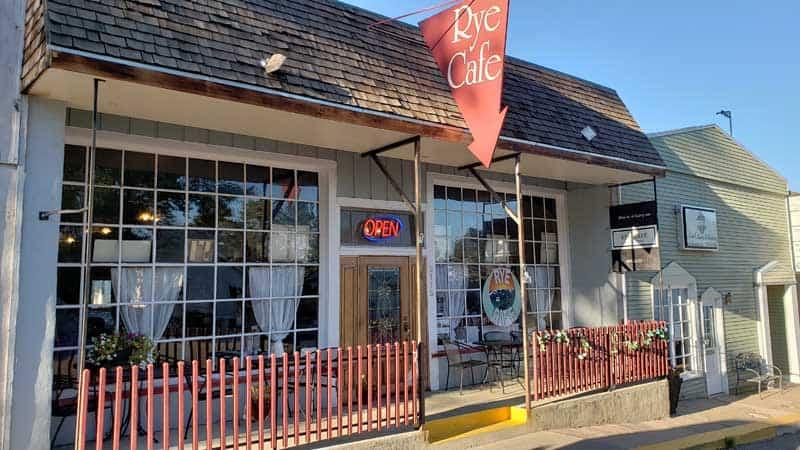 Rye Cafe in Rye, Colorado