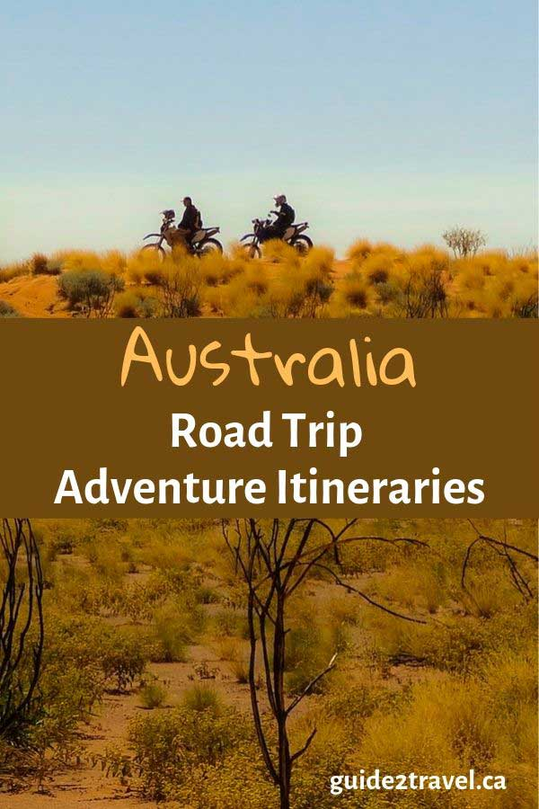 Australian road trip adventures