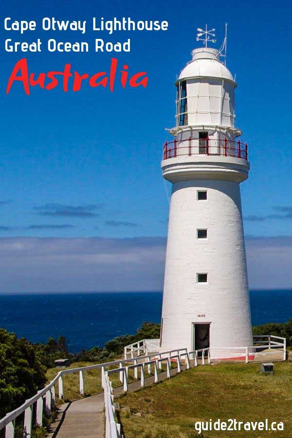 Cape Otway Lighthouse - oldest mainland lighthouse in Australia