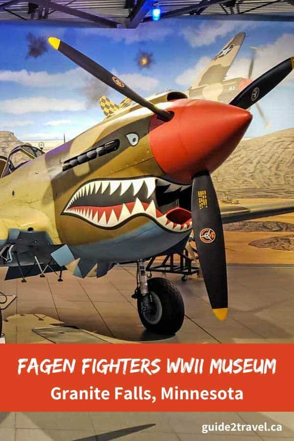 Visit Fagen Fighters WWII Museum in Granite Falls, MN