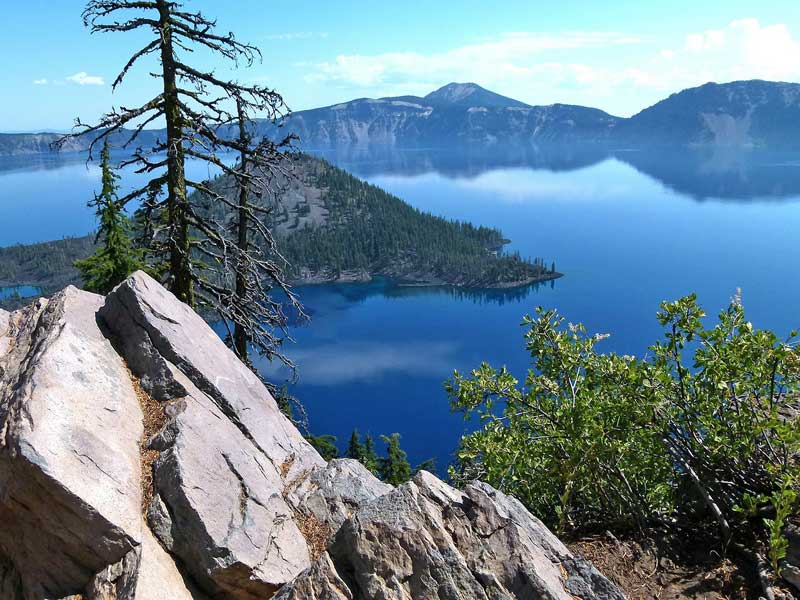 Crater Lake - Mt Mazama, Oregon.