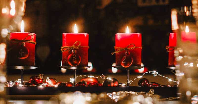 Holiday candles are the focus of Nights of Lights on a St. Augustine weekend getaway.