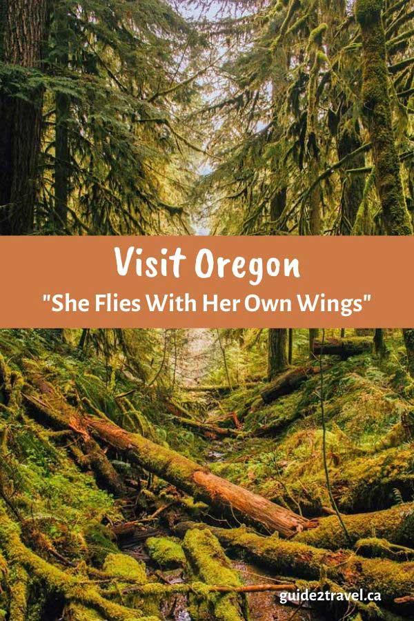Visit Oregon - state motto
