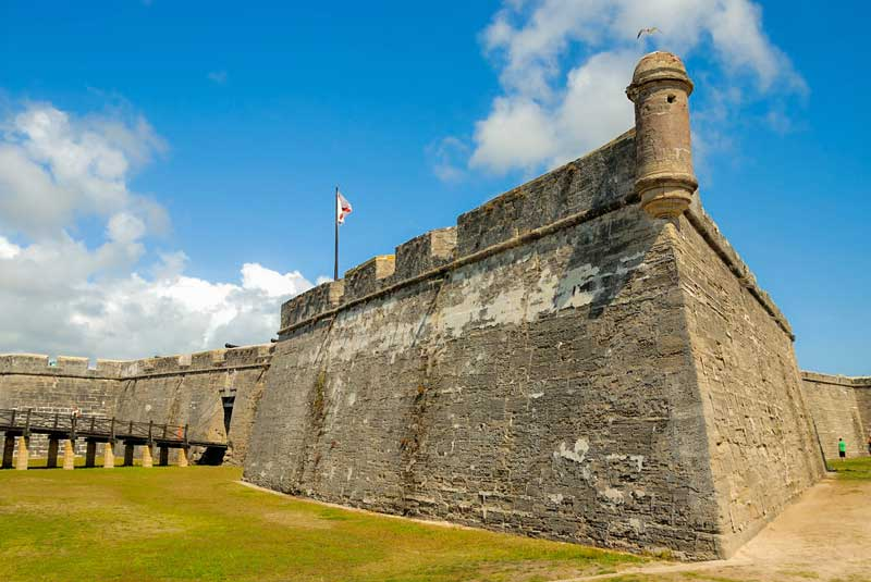 Visit Castillo de San Marcos on your St. Augustine weekend getaway