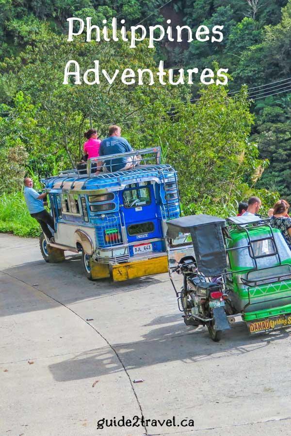 Adventures in the Philippines.
