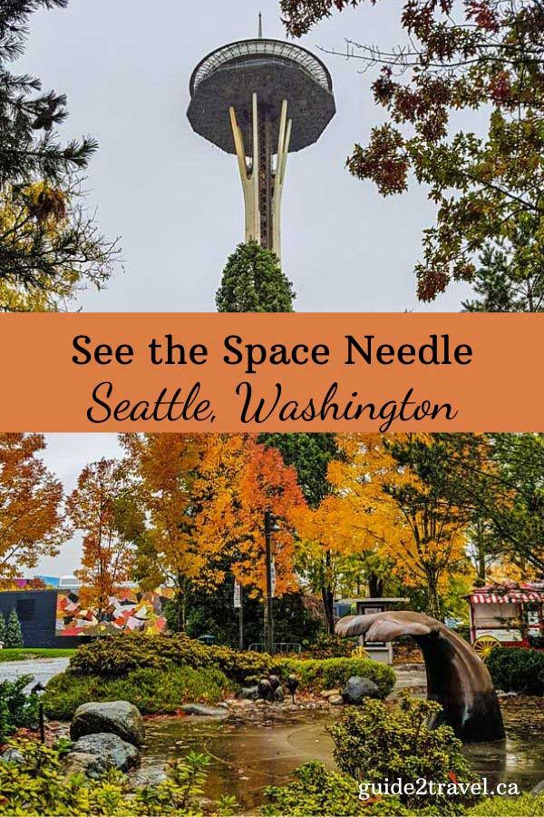 Space needle in Seattle.