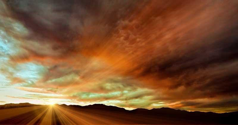 Death Valley Sunset.