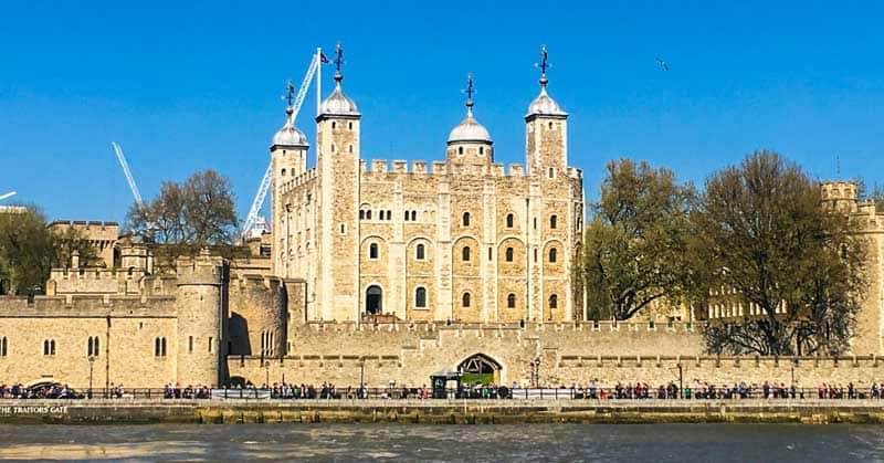 White Tower in London.