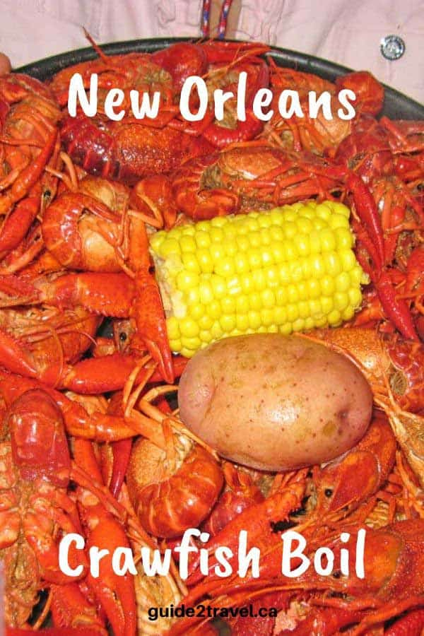 Try a crawfish boil on your New Orleans weekend getaway!