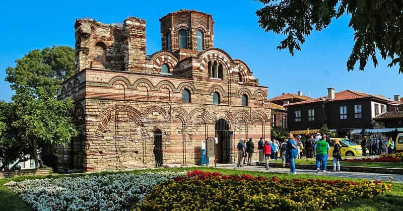Church of Christ Pantokrator in Nesebar.