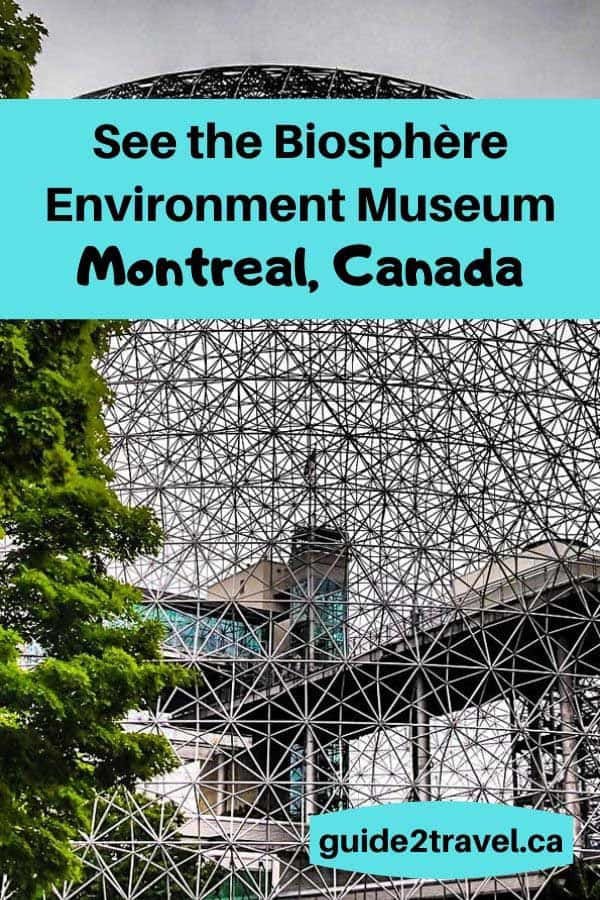 The Biosphere Environment Museum in Montreal, Canada.