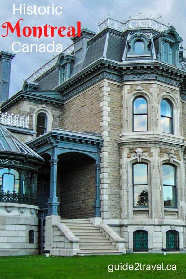 Historic Montreal, Quebec, Canada, has many beautiful properties.
