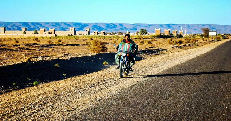 Discover Morocco on a motorcycle tour.
