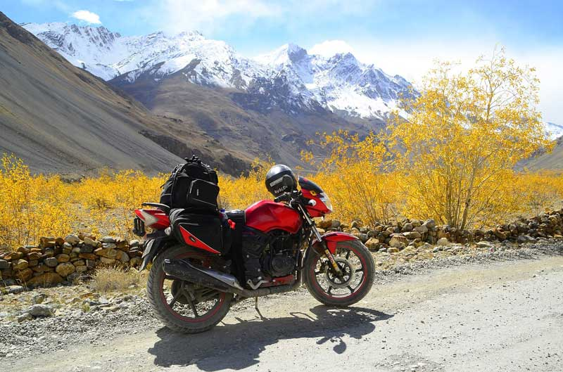 Motorcycle road trips through the Spiti Valley the northern Indian state of Himachal Pradesh.