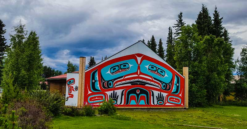 George Johnston Museum in Teslin, Yukon.