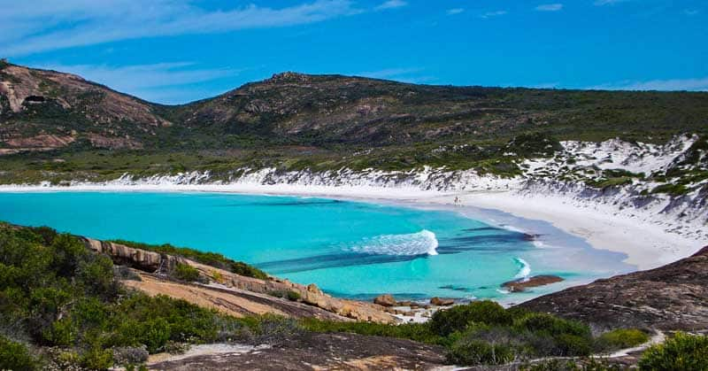 Cape le Grand National Park in Western Australia.