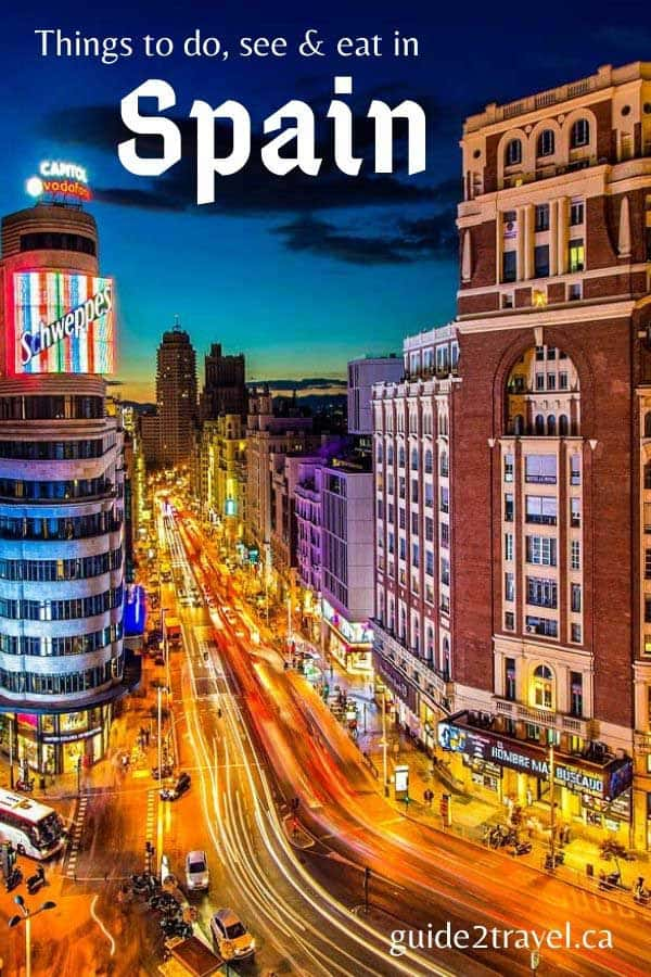 Spain for first-time visitors: things to see, do and eat!