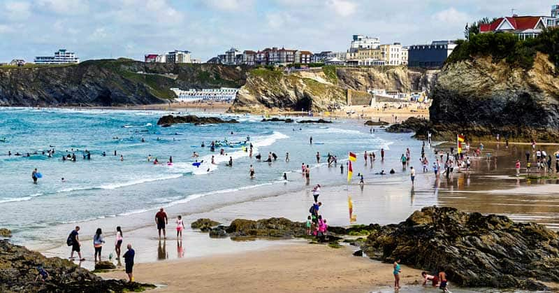 Newquay. Image by <a href=