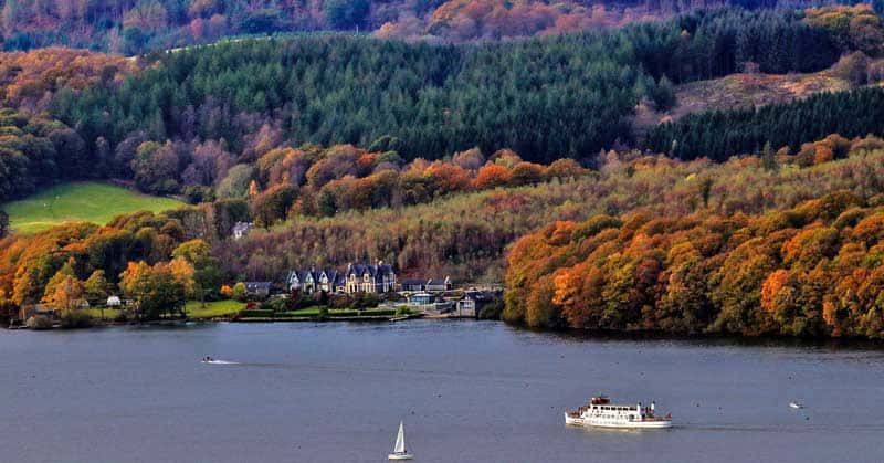 Windermere in the Lake District.