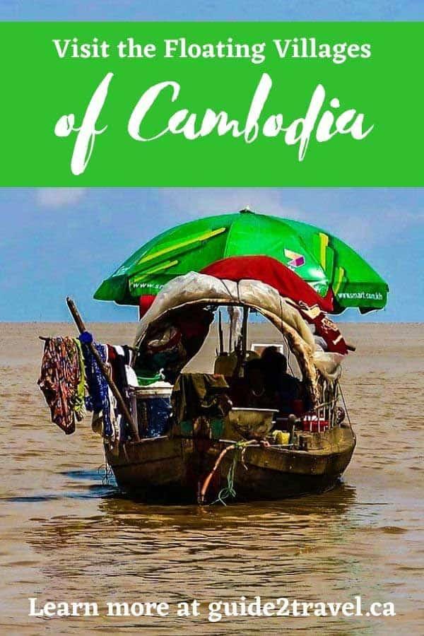 Tonle Sap Lake, Cambodia, Southeast Asia's largest freshwater lake.
