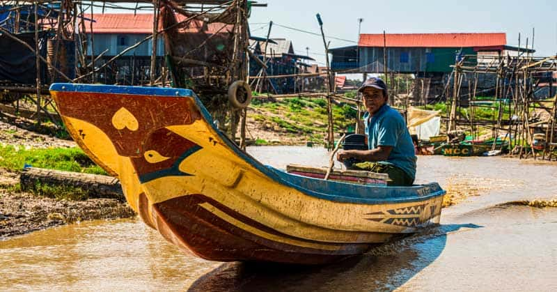 Floating Villages on the Tonle Sap Lake — Cambodia