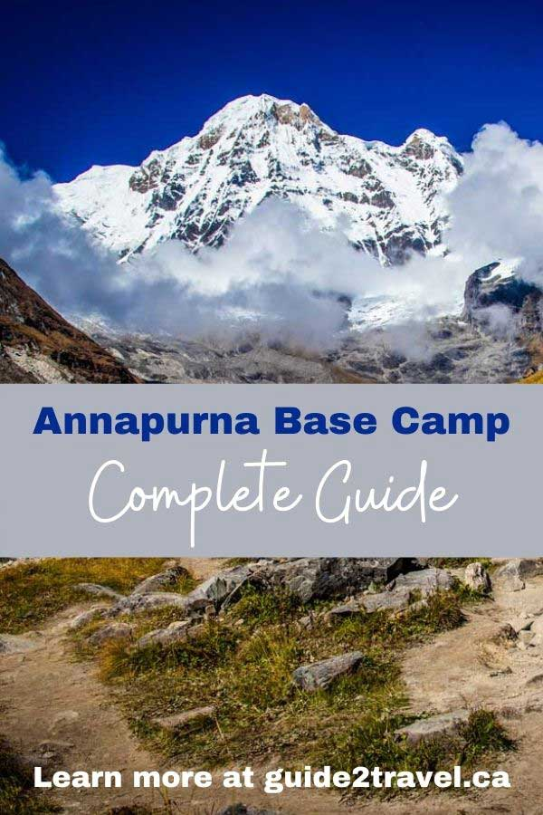 Annapurna Base Camp complete guide