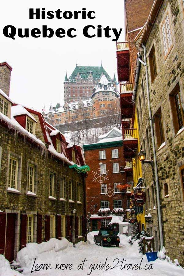 Discover many things to do in historic Quebec City, Quebec, Canada.
