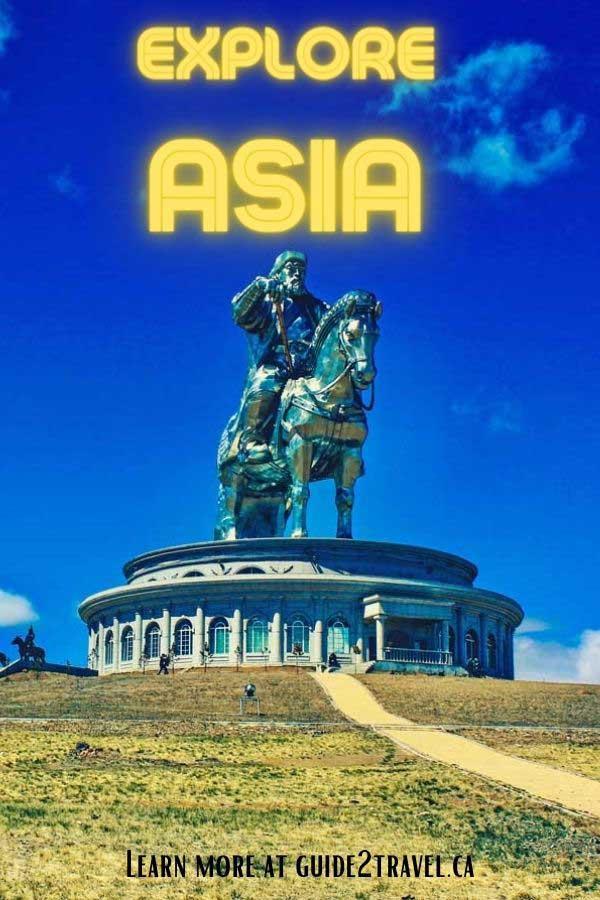 Discover the Asian cities of  Ulaanbaatar, Mongolia; Macau, China; and Naha, Okinawa.