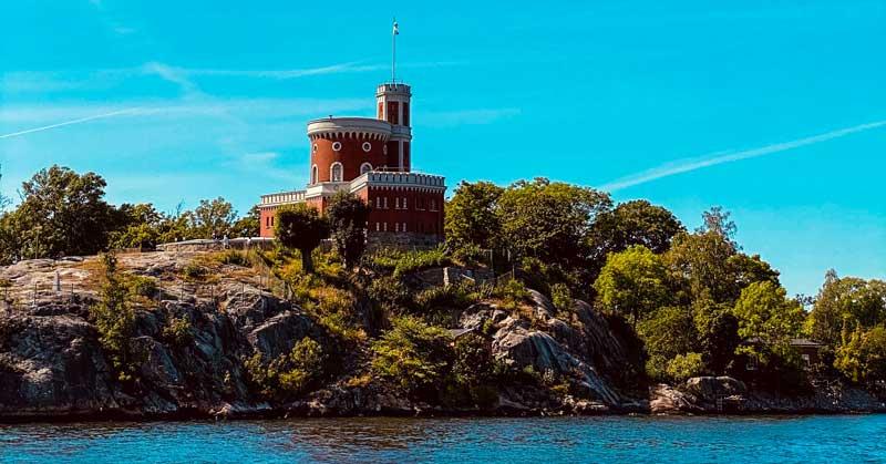The Island of Skeppsholmen in Stockholm