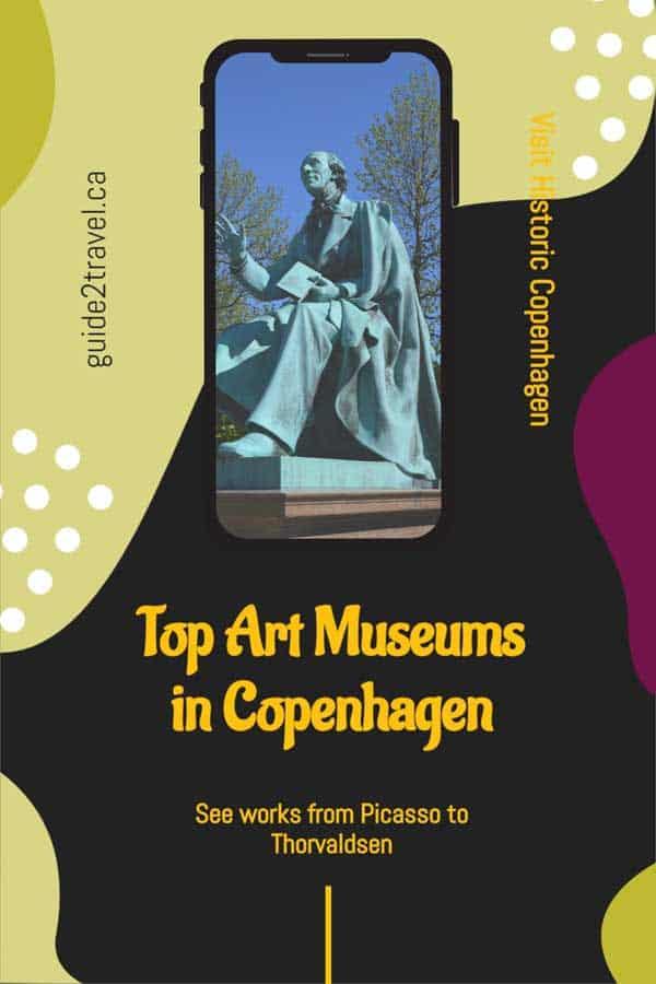 Must see art museums in the historic city of Copenhagen, Denmark.