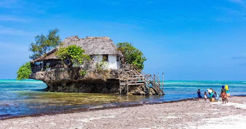 Rock Restaurant, Zanzibar.