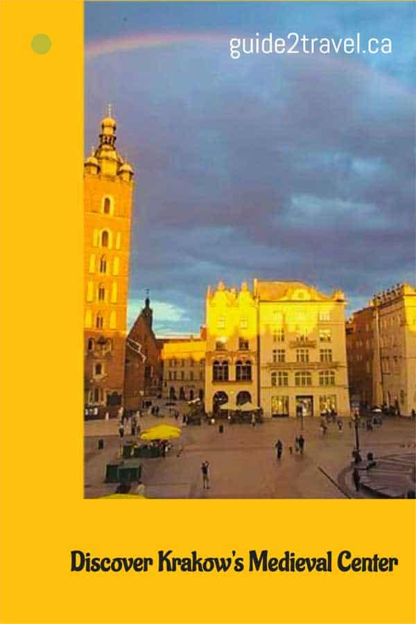 Discover Krakow's medieval town square